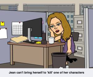 writing, characters death, novels,