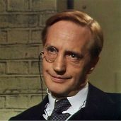 Lord Peter played by Edward Petherbridge in the BBC production of Strong Poison.